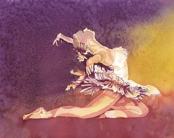 Fine Art Reproduction of Ballerina