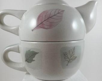 Mikasa Tea for One Teapot KT407 Woodland