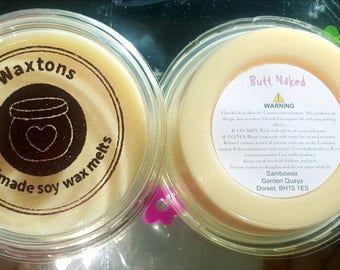 Butt Naked | Scented Soy Wax Melt | Gift for her | Easter | Mothers day | Gift | Honeydew Melon | Apple
