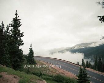 Mountain Photograph, Landscape Photography, Home Decor
