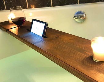 Wood Bathtub Tray - Bath Tray