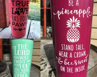 20 oz Personalized Insulated Tumbler