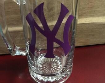 New York Yankees Beer Mug
