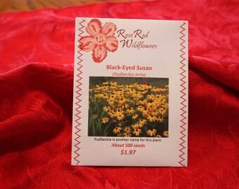 Black-Eyed Susan Seeds (About 50 seeds_