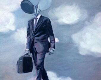 Head In The Clouds- Print