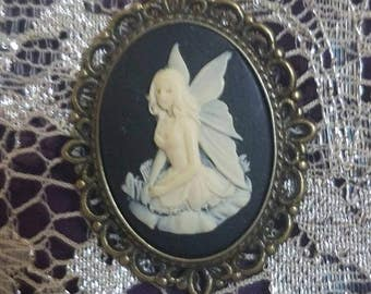 Fairy Cameo Necklace