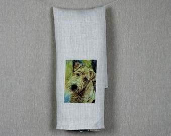 Linen Tea Towel - Beau