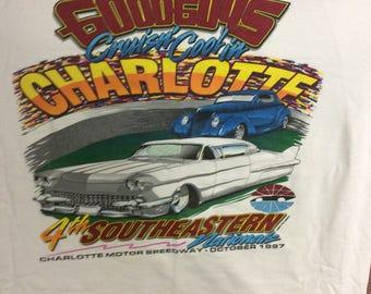 Vintage 1997 Goodguys Rod & Custom Charlotte T-shirt