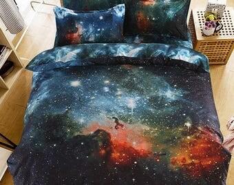 Galaxy Bedding 4 Pieces Bedding Set