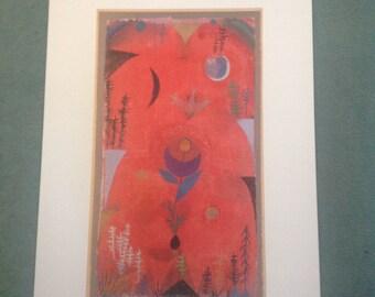 Paul Klee 'Flower Myth 1918'  art print.
