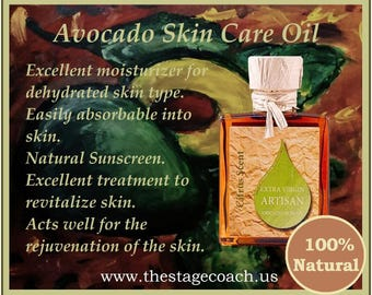 Artisan Avocado Skin Care Oil
