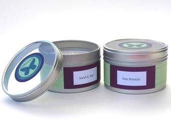 100% Soy Candle 6 0z. tin