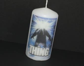 The Thing Candle John Carpenter