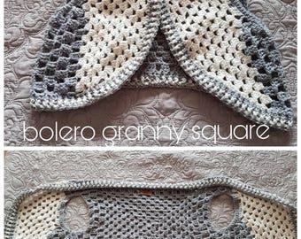 Crochet Bolero granny square