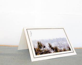 Nature Winter Photo Card