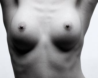 Black & White Erotic Photo Print