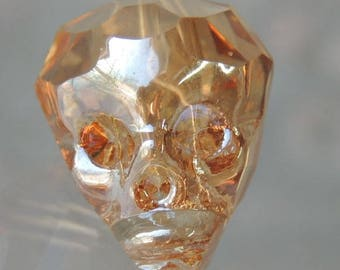 Crystal Skull old gold