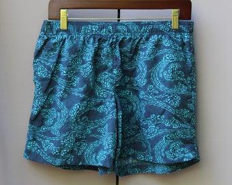 Blue Swirl Columbia Shorts