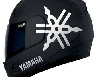 Yamaha set of stickers decals for helmet r1 r6 v-max fazer 400  600 1000 vinyl