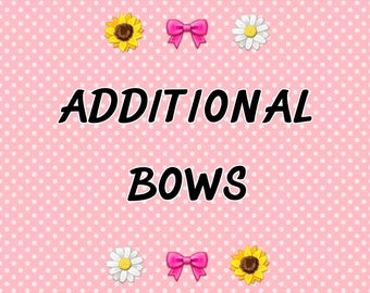 Additional Bows