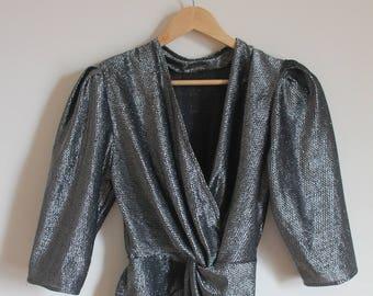 Vintage Silver Suit