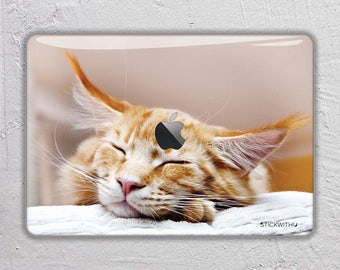 Cat macbook skin animal macbook decal macbook vinyl macbook sticker macbook cover macbook pro skin macbook air 13 photography FSM184
