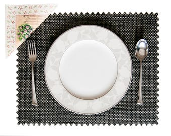 GNCDESIGN EXCLUSIVE PLACEMAT Black-Brown, Rectangle
