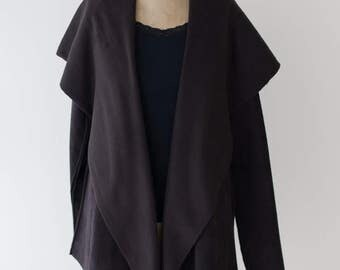 Luxe Fleece Cardigan Hooded Jacket