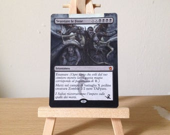 MTG Empty the Pits Altered Art
