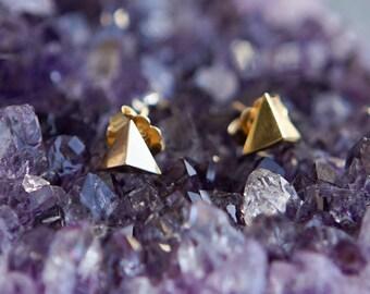 Tri Prism Earrings