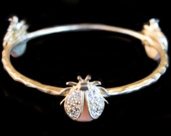 Vintage Beetle Bracelet
