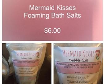 Mermaid Kisses Foaming Bath Salts