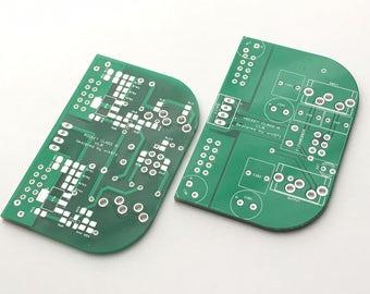 Bare PCBs for Pocket Class A Headphone Amplifier / Desktop / Headamp / Amp