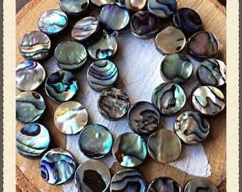 Strand Abalone shell mints 10 mm