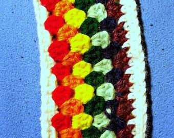 Rainbow Crochet Ear Warmer