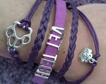 Vet tech bracelet by vettechstuff.com