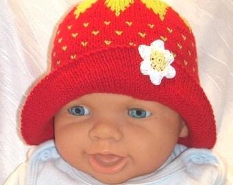 Strawberry Hat summer Hat