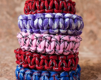 Handmade braided bracelets