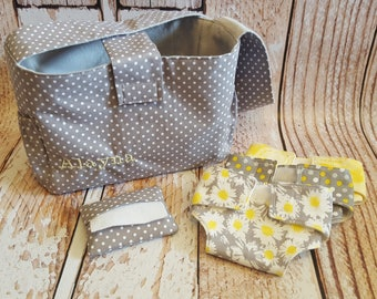 Baby Doll Diaper Bag Set