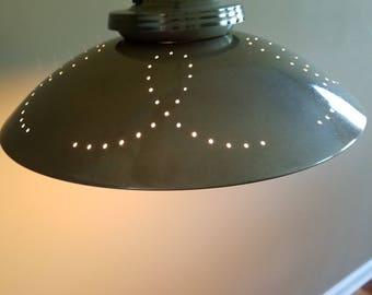 Mid Century Saucer Lamp Restored