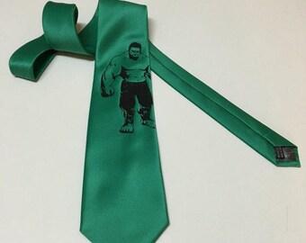 Hulk Necktie