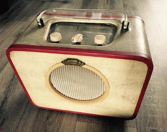 Vintage 1950s Ever Ready Sky Queen Valve Radio Prop