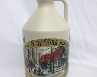 Pure NY Maple Syrup Half-Gallon Jug