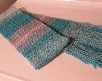 crochted scarf