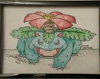 Framed Pokemon Sketch