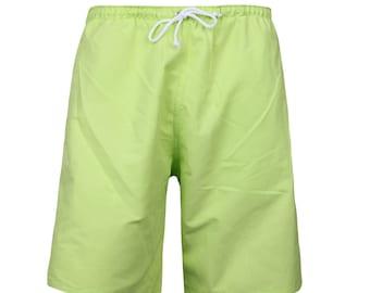 Puuper men's swim shorts Leopold lime