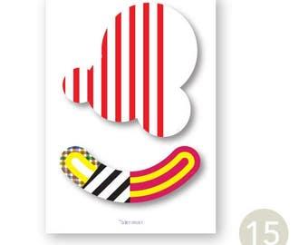A6 Happy card