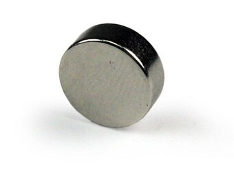 """Pack of 5 Round Disk Magnet 1/2"""" Diameter x 1/4"""" Thick - Round Magnet"""