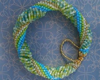 Dutch Spiral Bracelet
