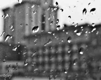 Seattle Raindrops - Canvas Print